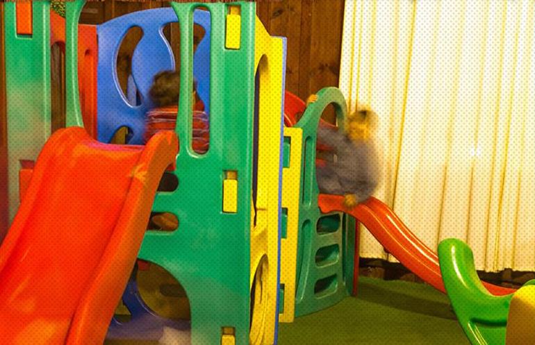 Foto do espaço kids da Churrascaria Para Pedro na Vipzinho