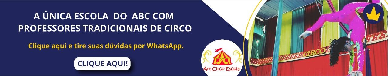 Banner Art Circo Escola