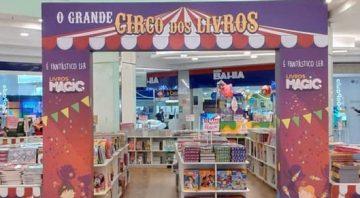 Shopping ABC organiza 'O Grande Circo dos Livros' com histórias para toda a família