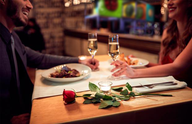Restaurante Romantico com espaço kids