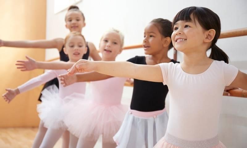 curso de Ballet Infantil no Vipzinho