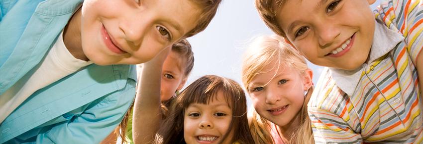 Crianças no parque Vipzinho