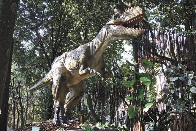 Mundo dos Dinossauros no Zoológico de São Paulo