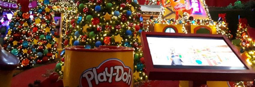Play Doh no Mauá Plaza Shopping