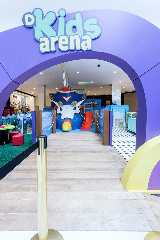 discovery kids arena no vipzinho