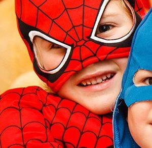 super heróis no vipzinho