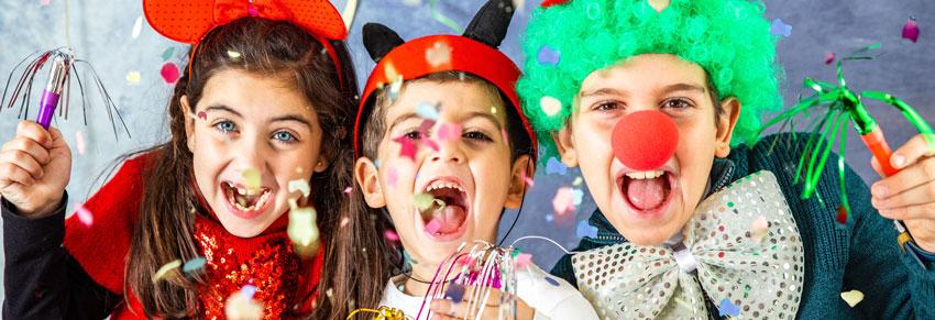 Carnaval no Golden Square. Carnaval para crianças no ABC. Carnaval para crianças no Portal Vipzinho.