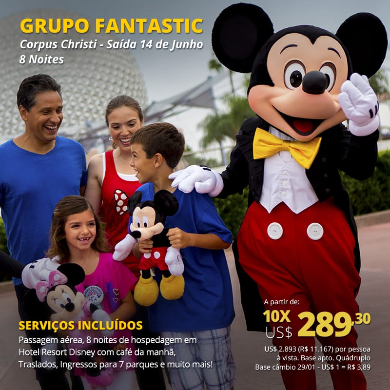 disney mickey vipzinho
