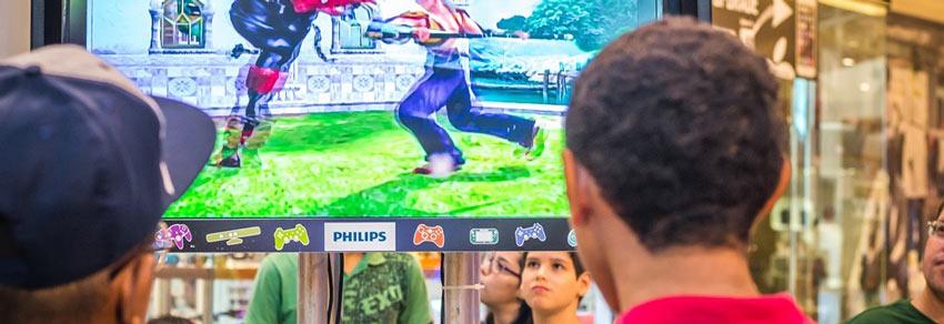 Museu do Videogame Itinerante em Santo André. Videogame no Portal Vipzinho.
