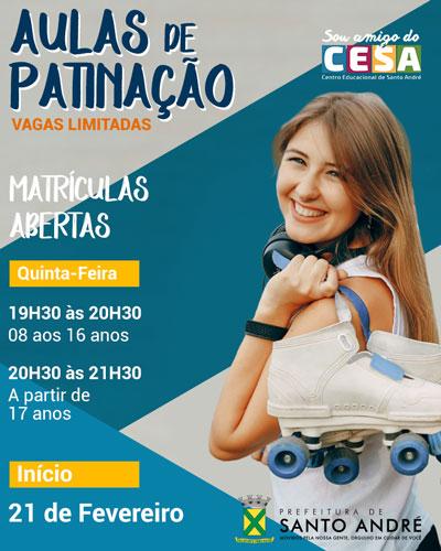 Patinação Infantil no ABC Paulista. Patinação Infantil no Portal Vipzinho.