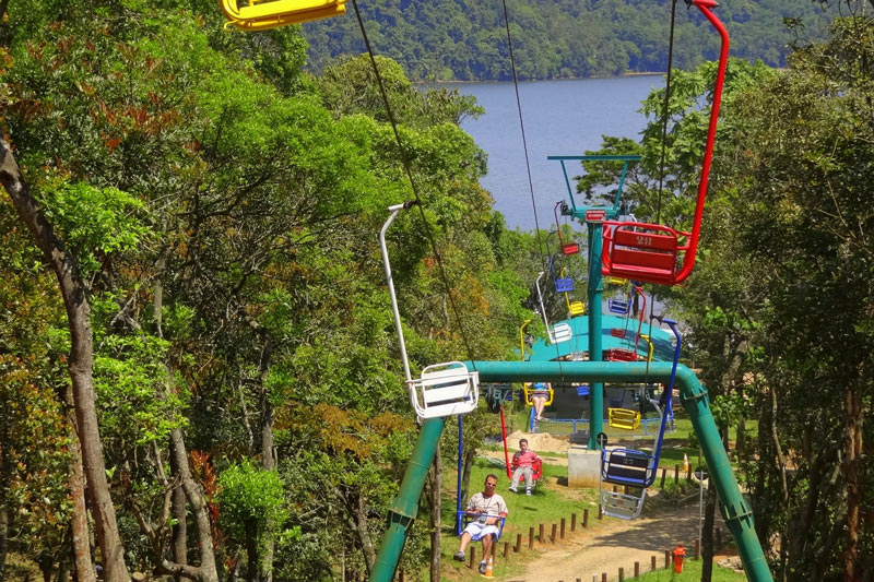 Parque Estoril no Portal Vipzinho. Teleférico no Portal Vipzinho.
