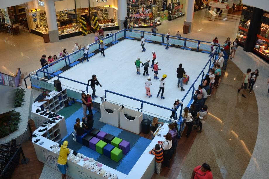 pista patinação são bernardo plaza shopping