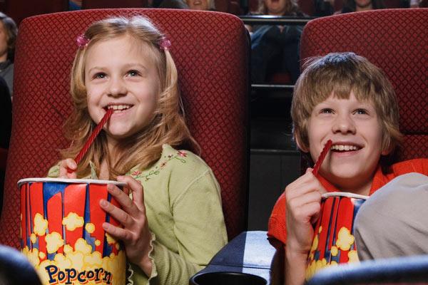 cinema com sessão exclusiva no vipzinho