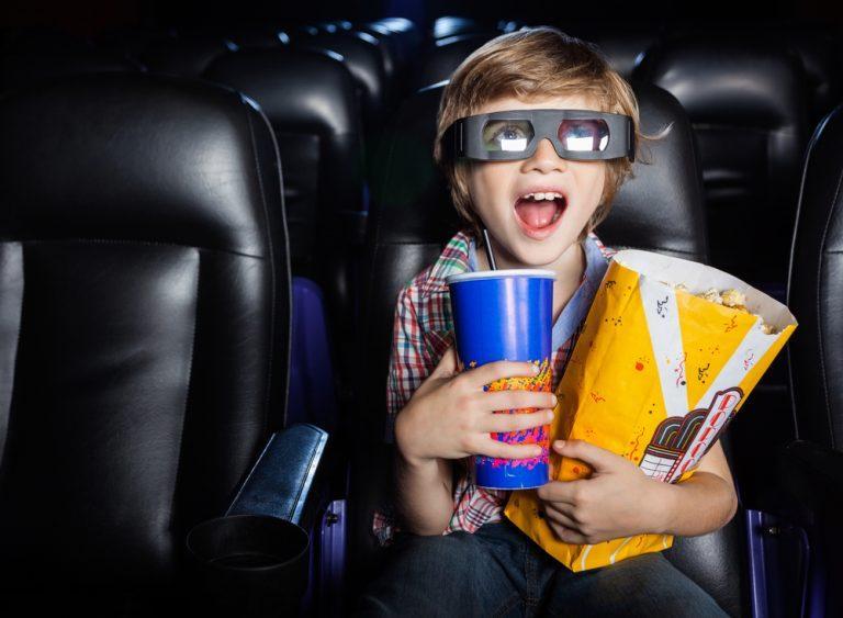 cinema crianças