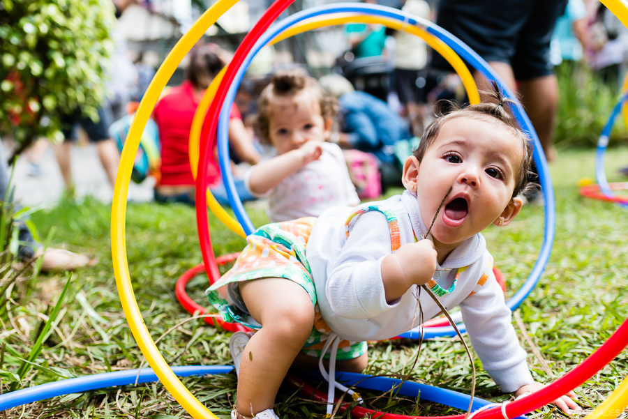 estímulos sensoriais em bebês