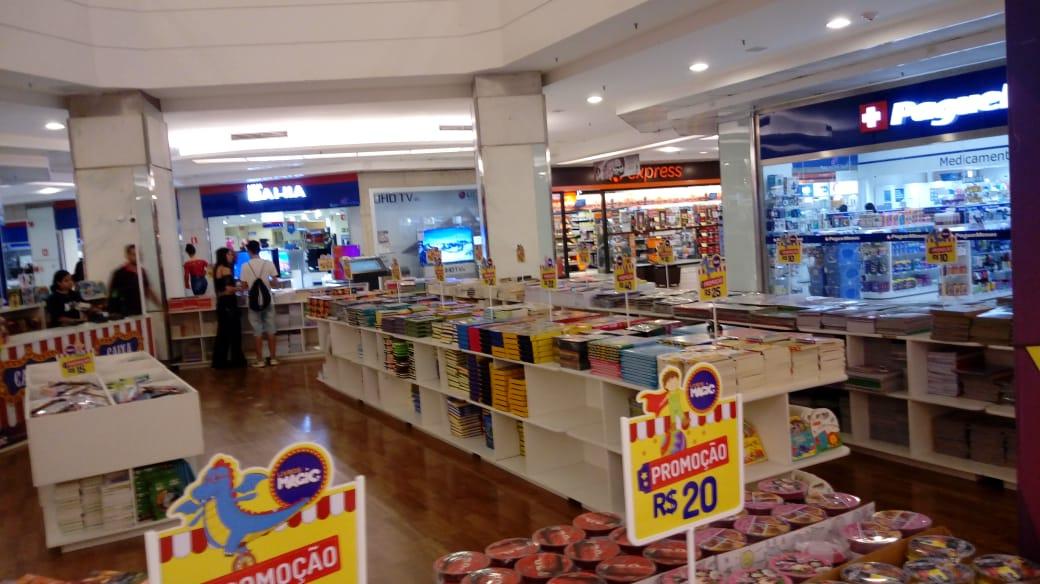 feira de livros magic vipzinho