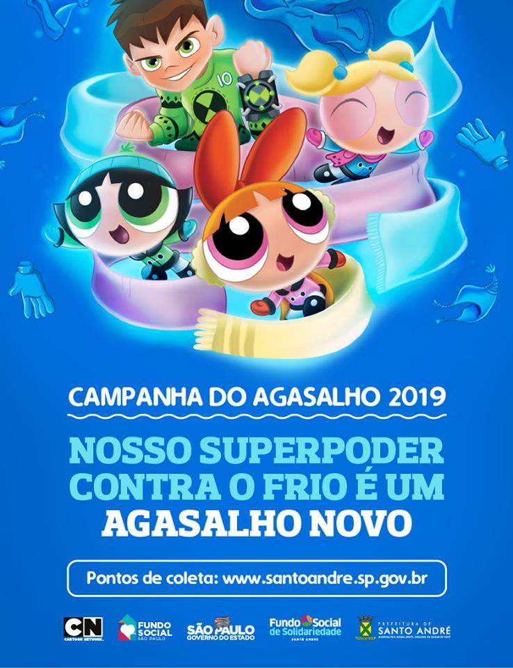 Campanha do Agasalho em Santo André no Portal Vipzinho