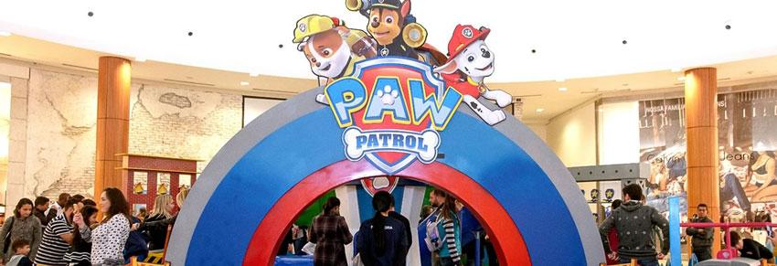 patrulha canina shopping