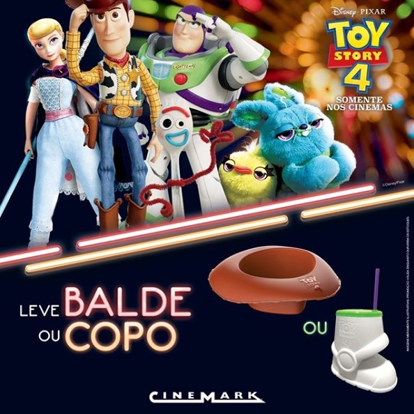 toy story balde pipoca