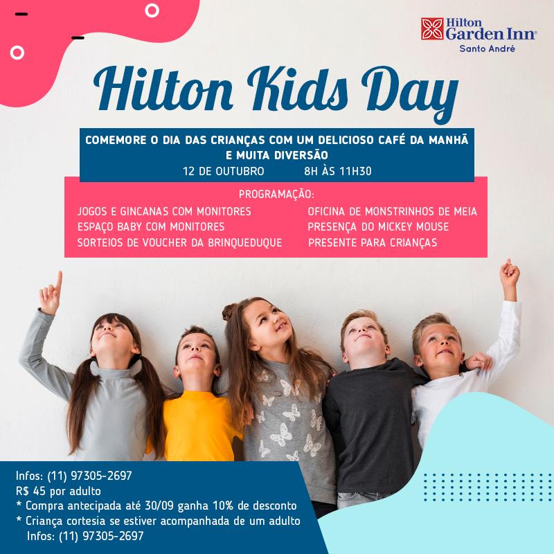 Hilton Kids Day no Portal Vipzinho