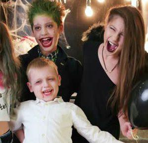 halloween família