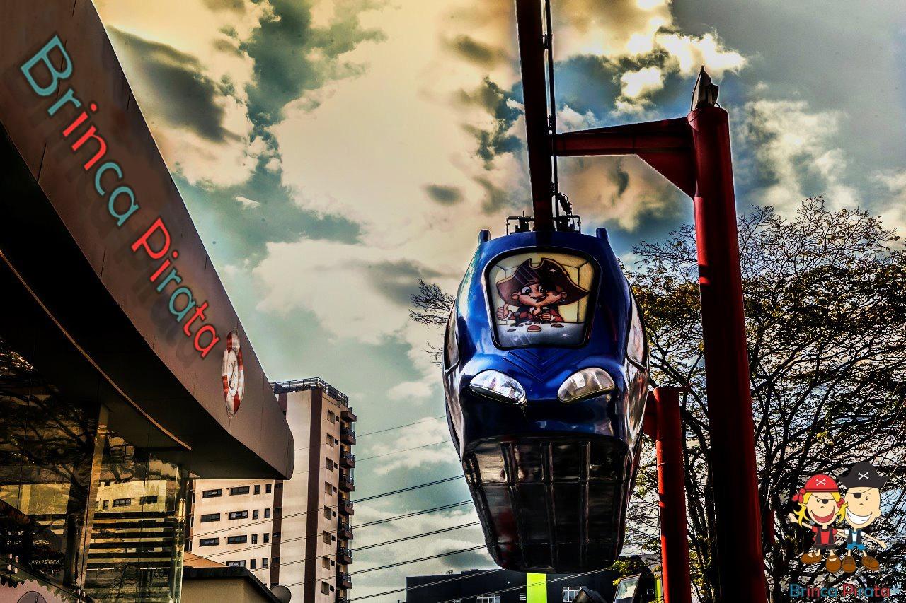 Monorail brinca pirata vpz