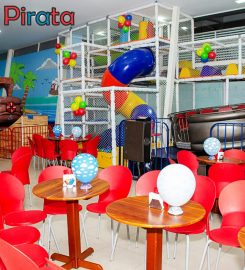 Brinca Pirata Buffet Infantil
