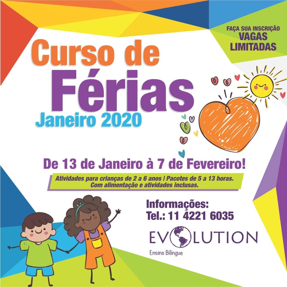 curso de férias evolution