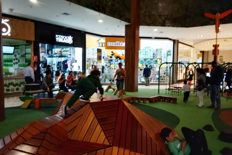 Espaço de Brincar no Shopping Metrópole