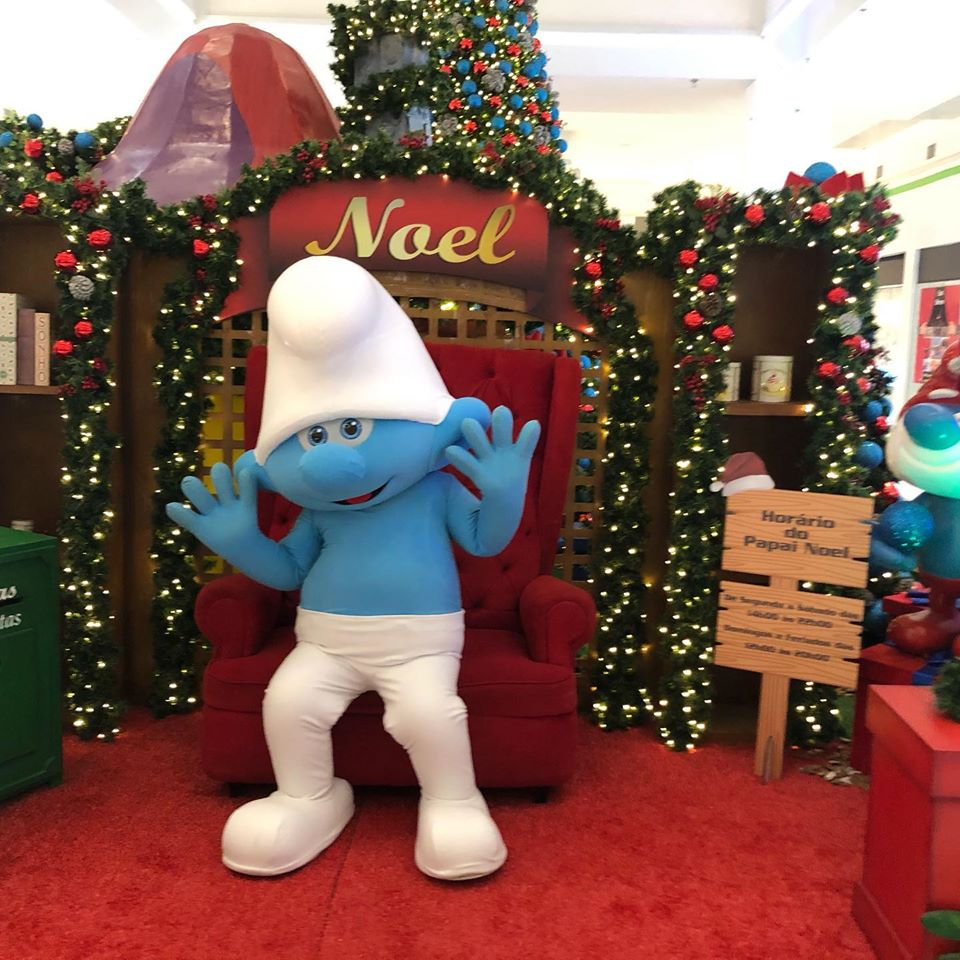 smurfs atrium shopping