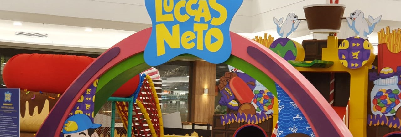 Luccas Neto Shopping ABC Vipzinho