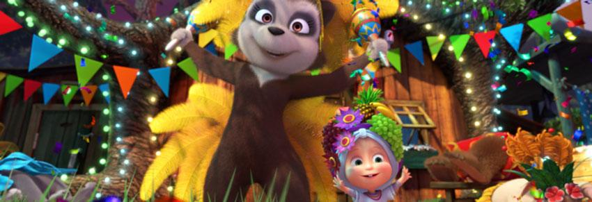 masha e o urso carnaval no vipzinho