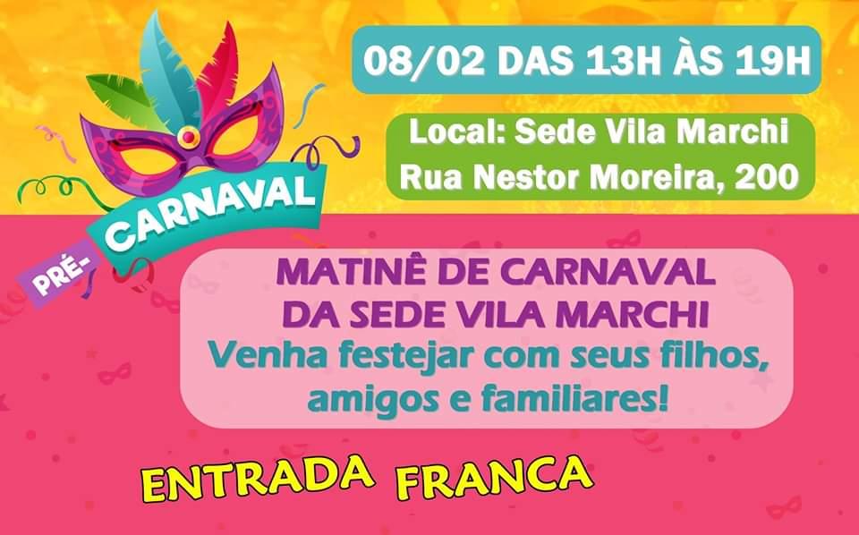 carnaval da Sede da vila marchi no vipzinho