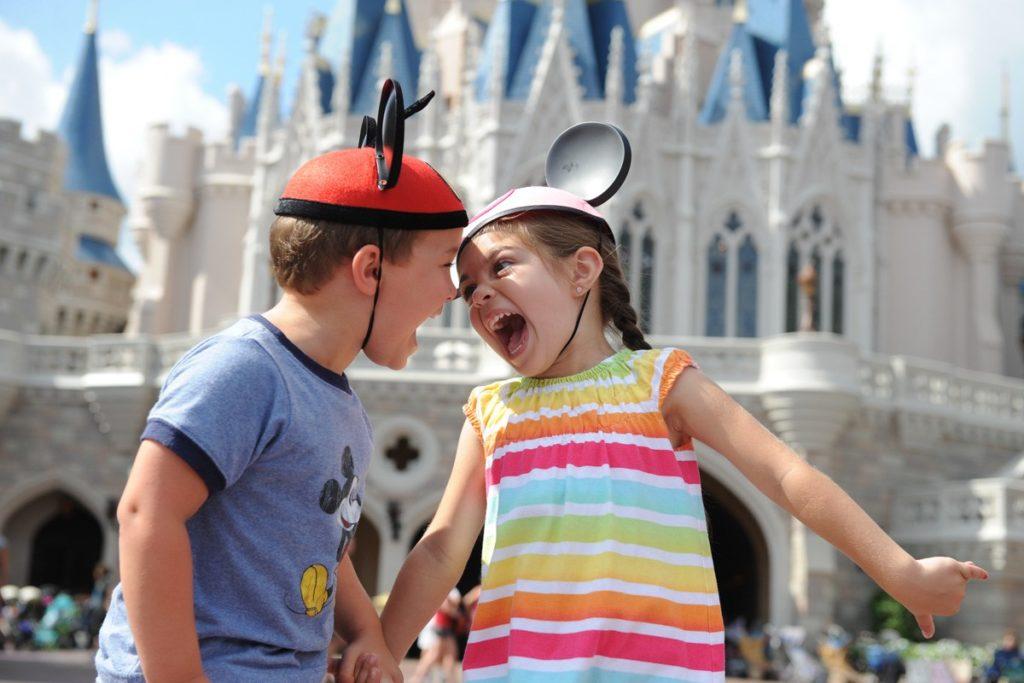 crianças em Orlando Vipzinho