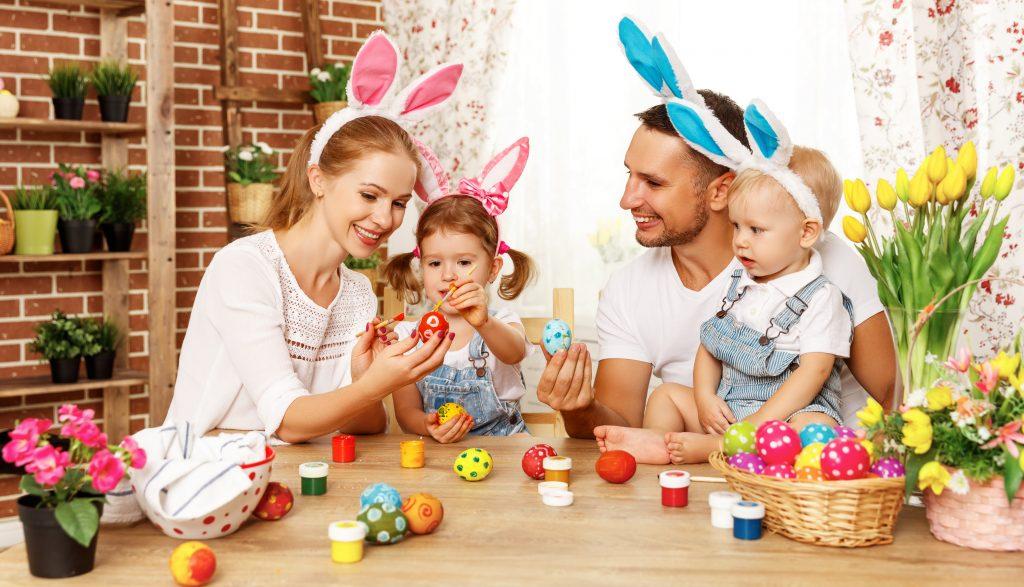 atividades páscoa família