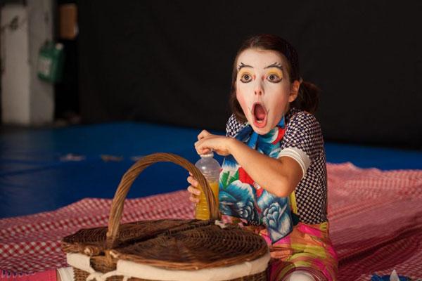 art circo escola com caça ao tesouro no vipzinho