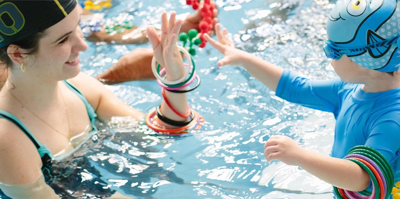 peixinho dourado escola de natação no vipzinho