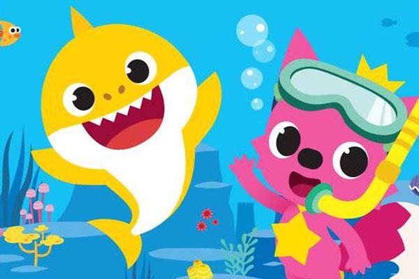 baby shark no HB brincar e vestir com vipzinho