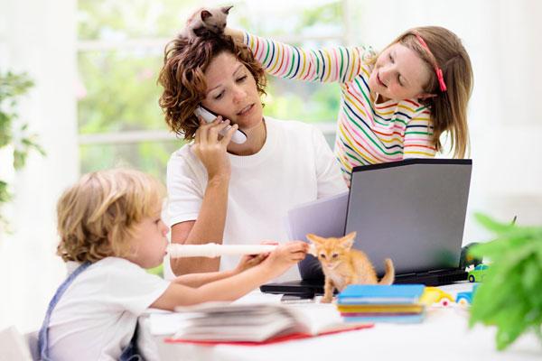 trabalhar com crianças em casa com vipzinho