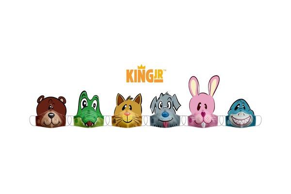 máscaras do burguer king para crianças no vipzinho