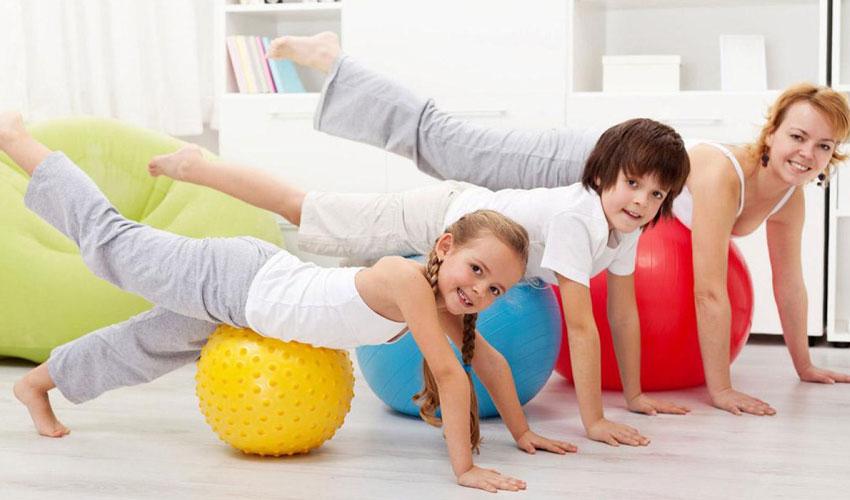 pilates infantil no The pilates center com vipzinho