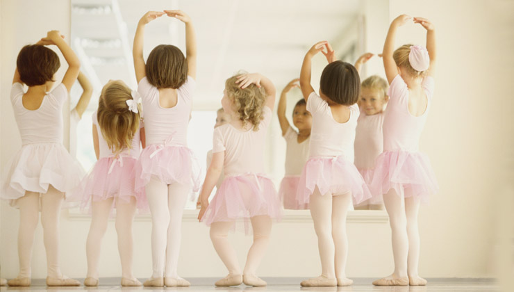 ballet baby on-line no vipzinho
