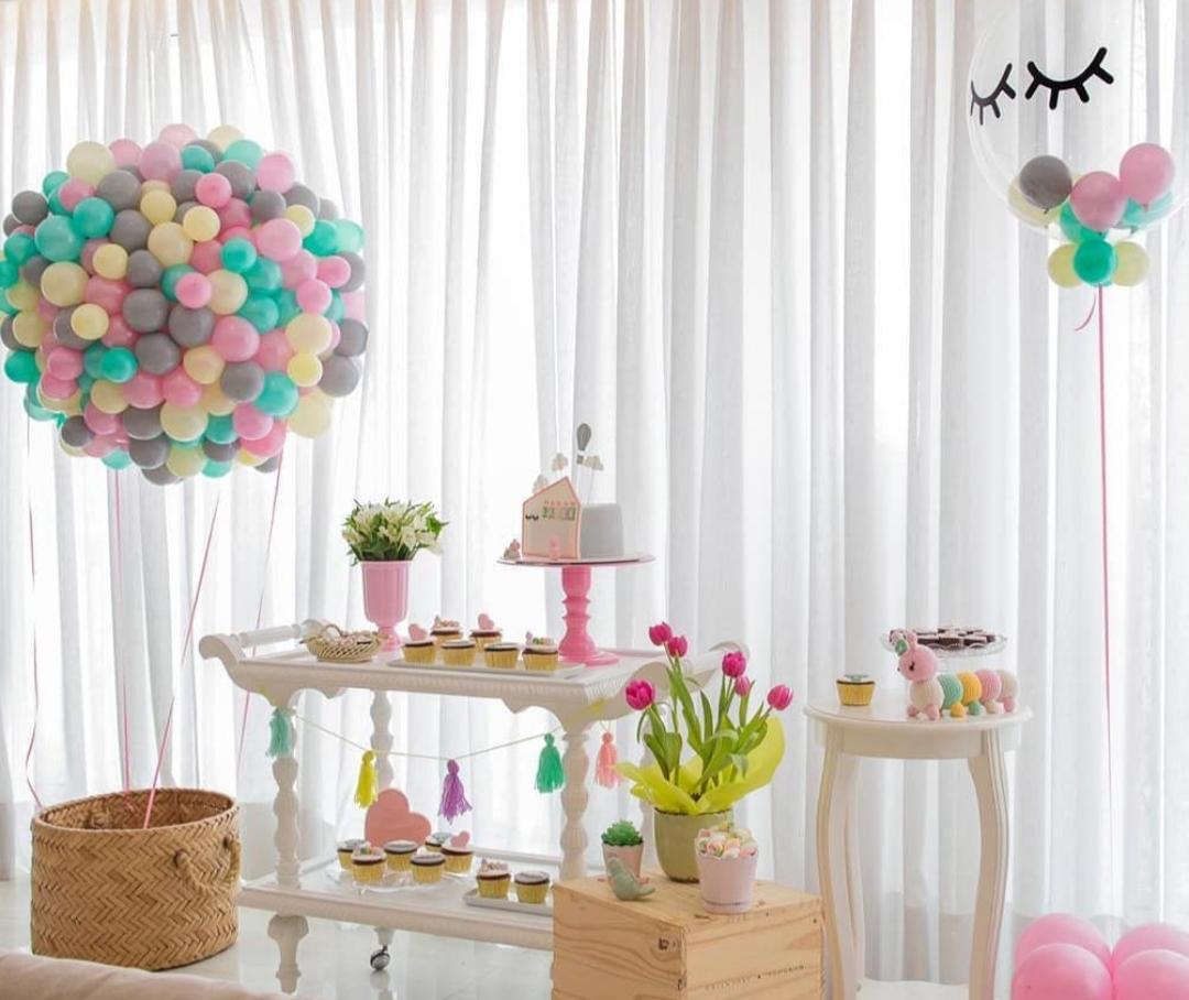 charreata com a mmika design de balões no vipzinho