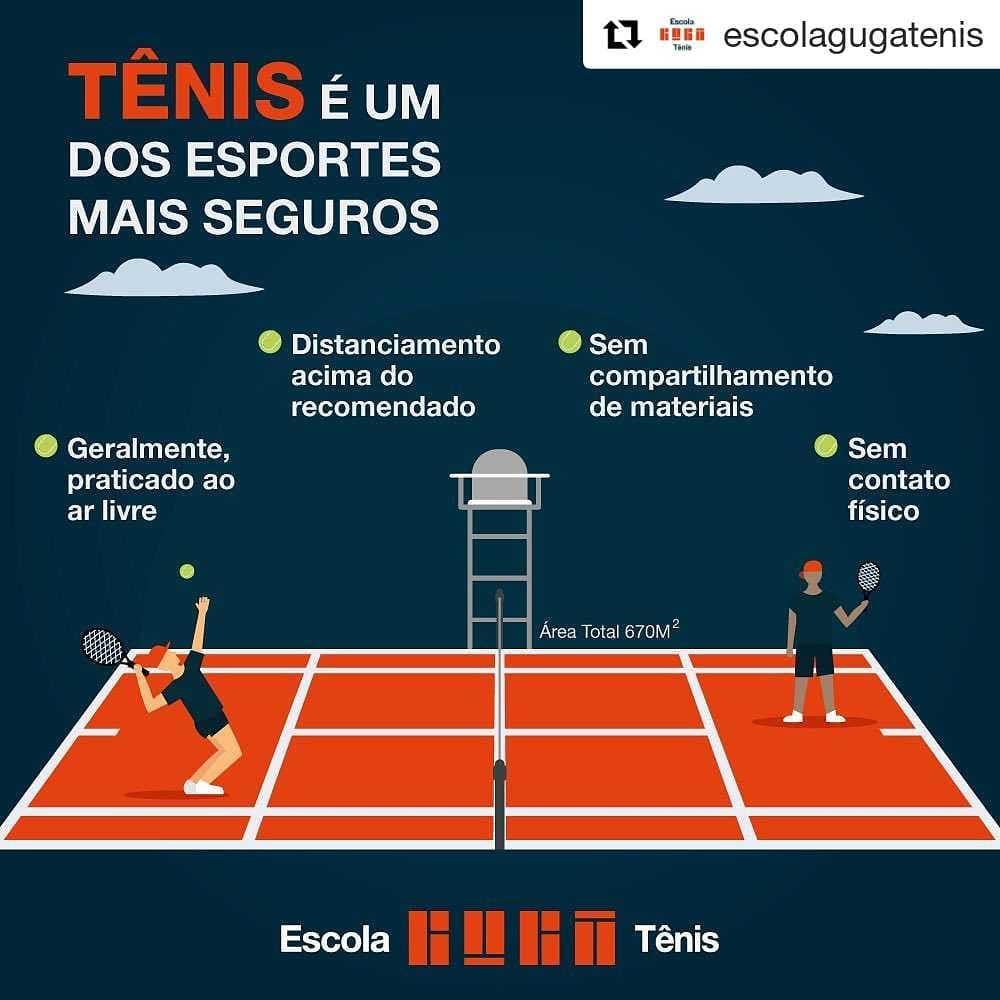 distanciamento aplicado no tênis com vipzinho