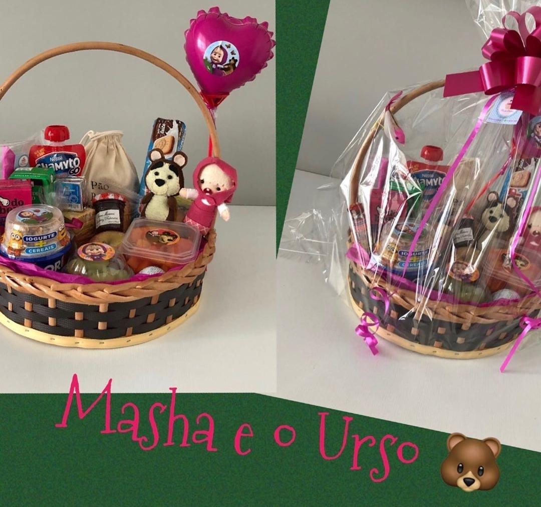 cestas da Masha e o Urso no vipzinho