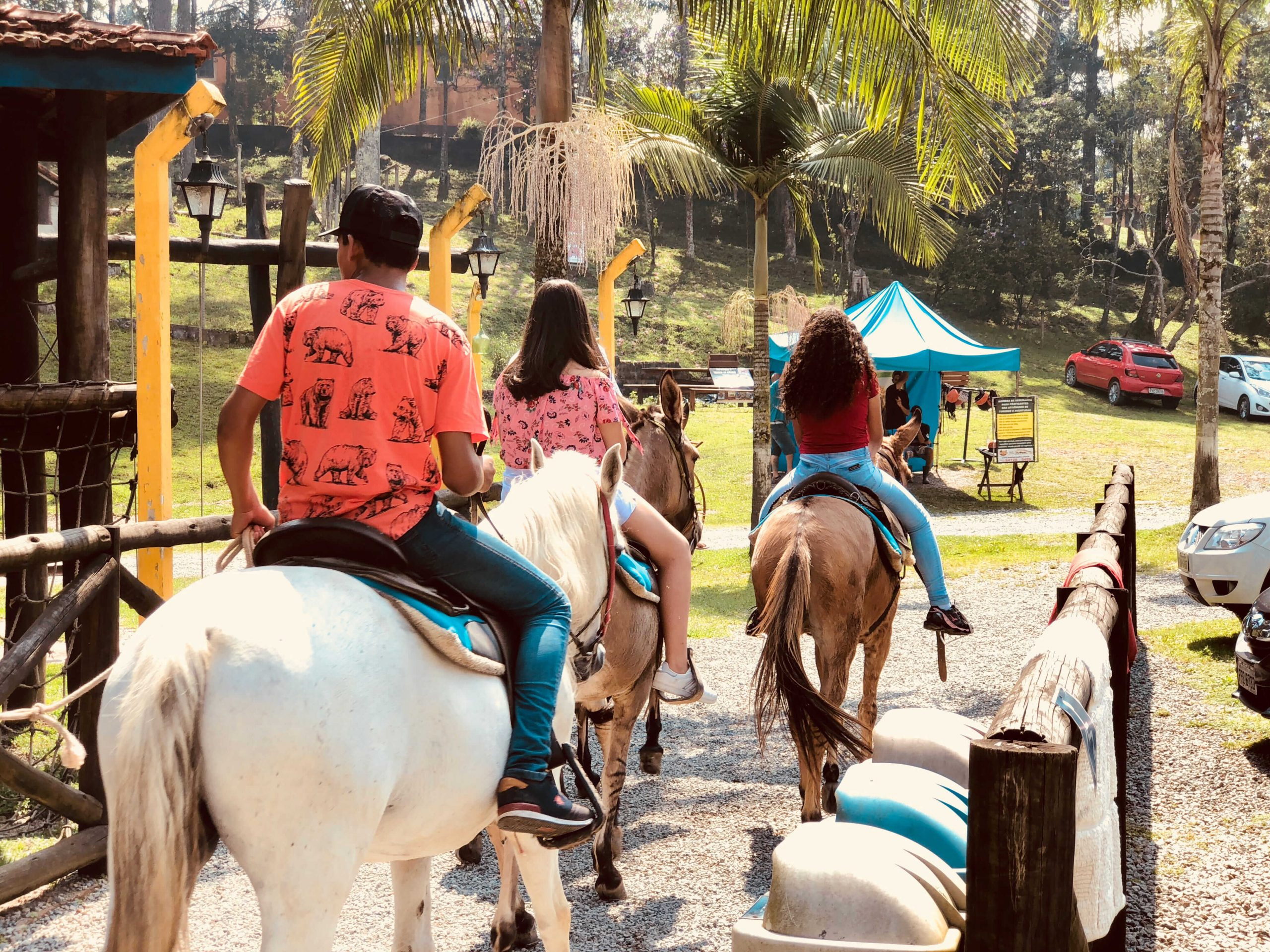 rancho do comanche com passeio a cavalo no vipzinho