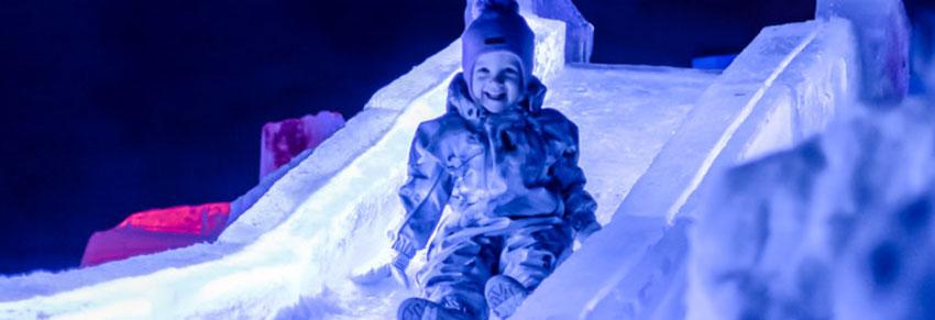 ártico: neve e gelo no vipzinho
