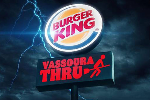 burger king no vipzinho