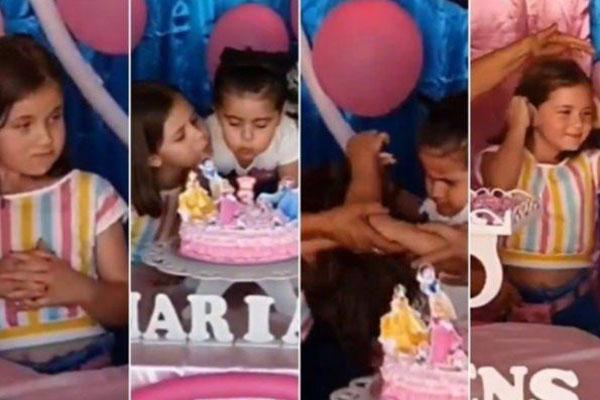 briga de ciúmes entre irmãs no aniversário com vipzinho