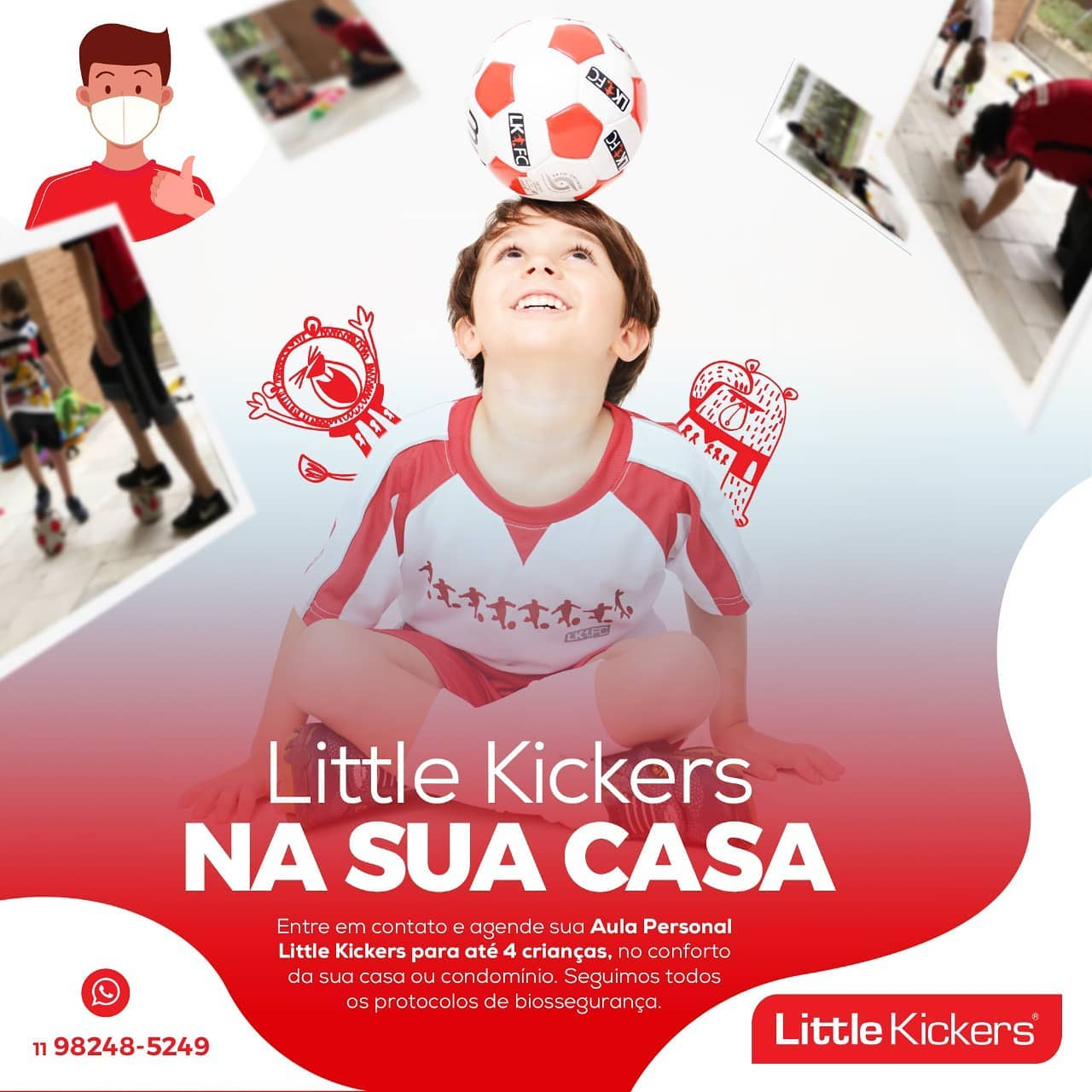 little kickers no vipzinho